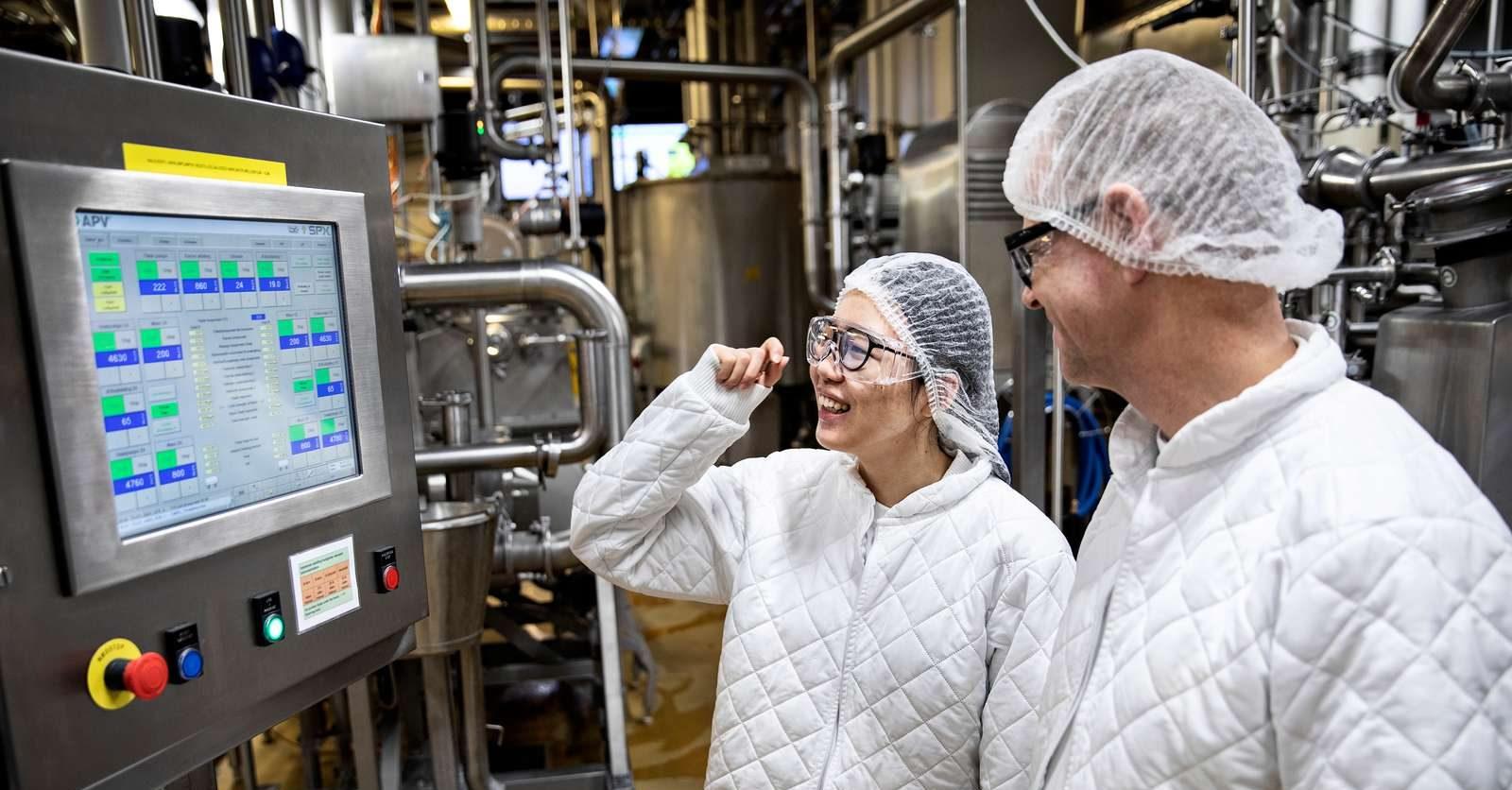 Smørproduktion, ARLA Hobro.